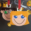 Personalised Girl Christmas Decoration