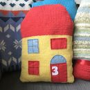 Our House Personalised Cushion Knitting Kit