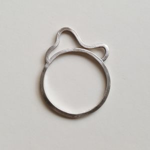 Silver Wire Flo Ring - rings