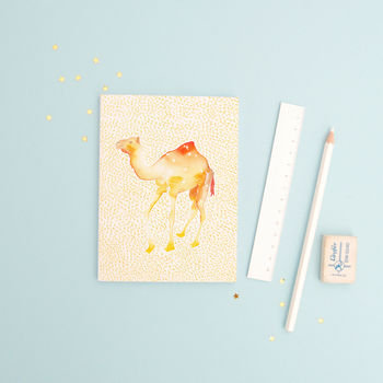The Camel Aquarius Zodiac Recycled Paper Notebook