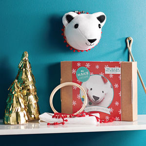 Percy Polar Bear Craft Kit - new in christmas