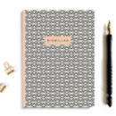 A5 Bismillah Notebook In Geometric Design Beige
