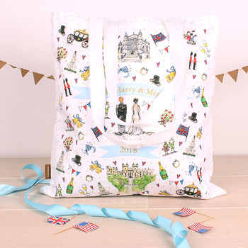 Royal Wedding Cotton Shopper