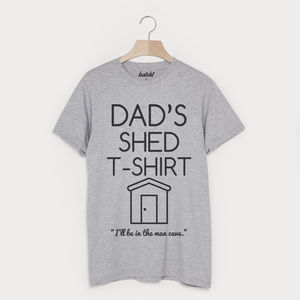 Dad's Shed T Shirt - Mens T-shirts & vests