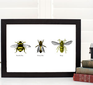 Imposter! A4 Bee Print