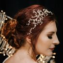 Bud Pearl Bridal Wedding Tiara