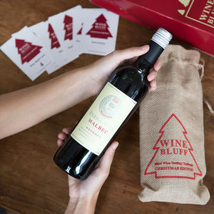 'Wine Bluff' Blind Wine Tasting Game Christmas Edition