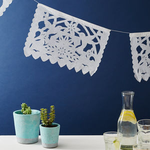 Paper Bunting From Mexico - bunting & garlands