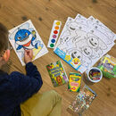 Fun Art Activity Kit Including Mug And Personalised Bag