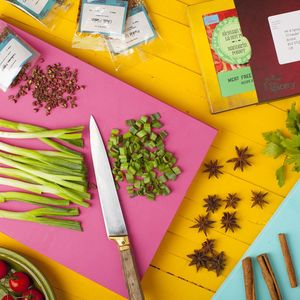 Twelve Month Meatfree Magic Recipe Kit Subscription - off to university