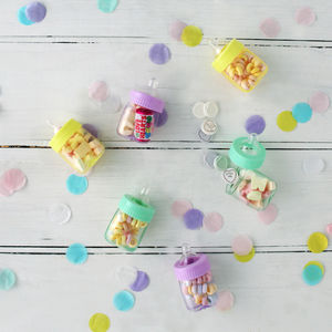 Baby Shower Favour Bottles - party bags and ideas