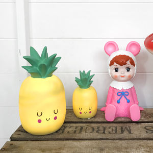 Super Cute Kawaii Happy Pineapple Lamp