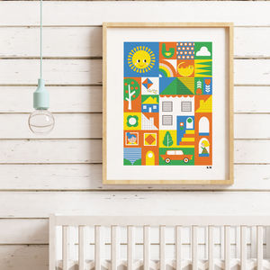Good Neighbours Print