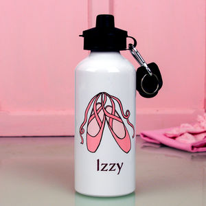 Personalised Ballet Water Bottle - garden sale