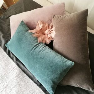 Rectangular Velvet Cushion - cushions