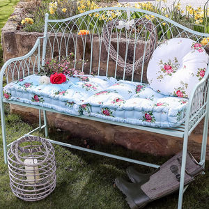Floral Jardin Bench Mattress - bedroom