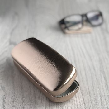 Rose Gold Glasses Case