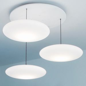 Ethel Three Drop Suspension - ceiling lights