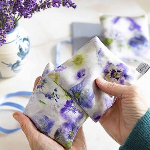 Silk Lavender Bags - decorative accessories