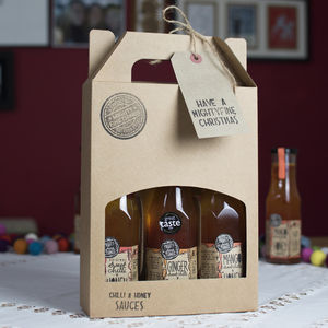 Sweet Chilli And Honey Sauce Gift Set - foodies