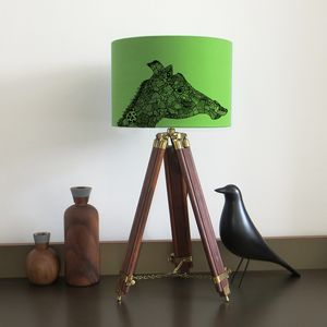Giraffe Lampshade Nine Colour Options - lighting