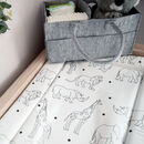 Animal Deluxe Baby Changing Mat