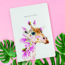 Luxury Giraffe Notebook / Journal
