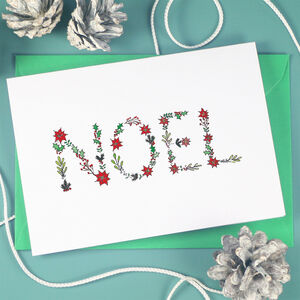 Noel Holly Berry Christmas Cards
