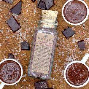 Organic Himalayan Pink Salt Hot Chocolate - new in food & drink