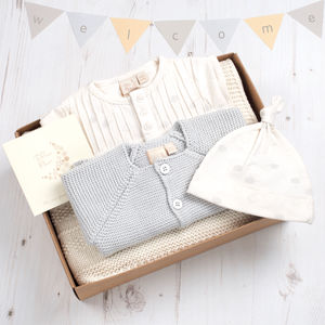 Little Clouds Baby Shower Unisex Gift Box - baby care