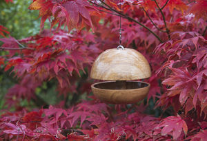 Oak 'Applecore' Birdfeeder - birds & wildlife
