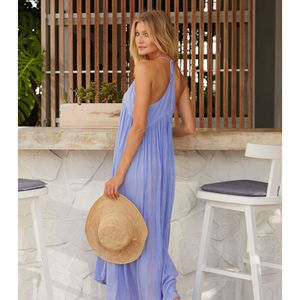 Lenu Maxi Sundress Cannes Lilac - dresses