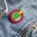Keep On Going Enamel Pin
