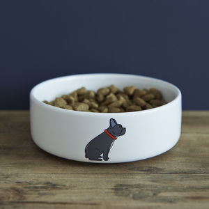 French Bulldog Dog Bowl - dogs