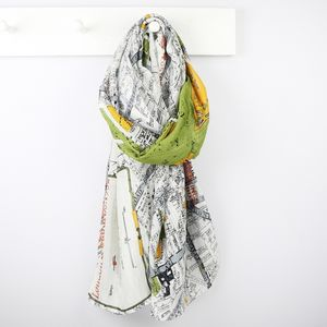 Streets Of London Scarf - winter sale