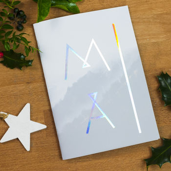 Neon Metallic Notebook