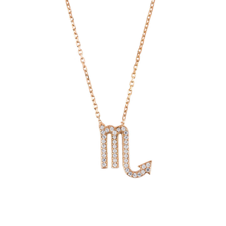 Latelita London Gemini Zodiac Necklace