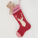 Red Stag Stocking