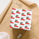 Personalised Christmas Tree And Car Wrapping Paper