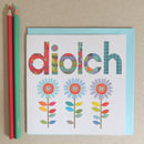 Welsh Thank You Diolch Card