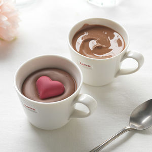 Chocolate Filled Espresso Cups - teas, coffees & infusions