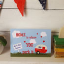 Personalised Caravan A5 Card