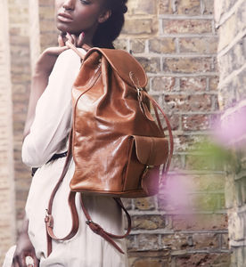 Sac A Dos Leather Backpack - backpacks