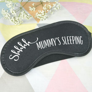 Shhhh Mummy's Sleeping Eye Mask - eye masks & neck pillows