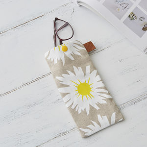 Daisy Glasses Case - glasses cases