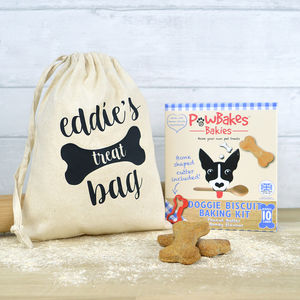 Bake Your Own Dog Biscuits Kit With Bag - dogs