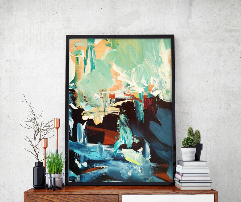 Abstract 28 Limited Edition Fine Art Print A4 Size