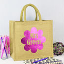 Personalised Teacher Flower Bag