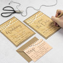String Lights DIY Wedding Invitation Set
