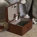 Leather Memory Box
